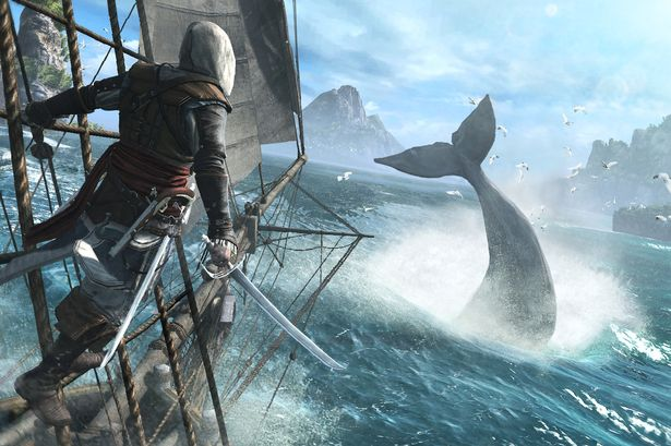Assassin's Creed 4- Black Flag Whale -1741791