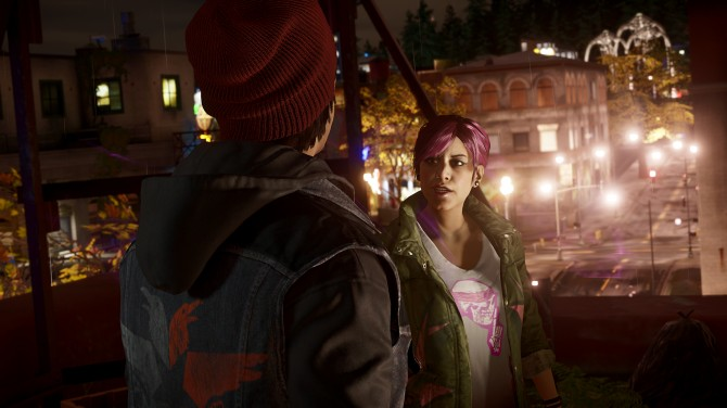 "inFAMOUS: Second Son Cole's Legacy DLC: ""You Might Get a Little Visit From a Friend"""
